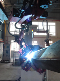 Robotic Welding System for Excavator Attachment - 'HUMAN ERROR IS NOT AN OPTION'